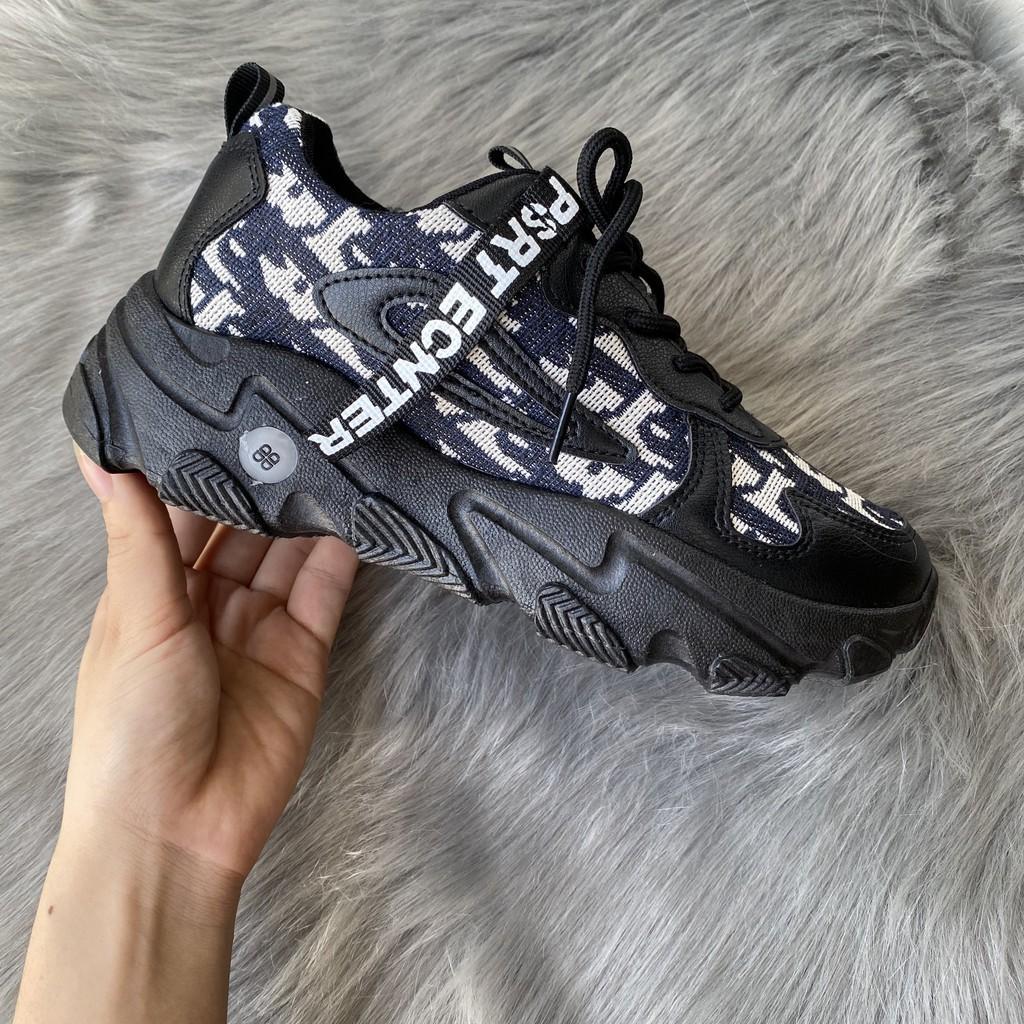 Giày sneaker nữ Ulzzang A2020 kiểu dáng thể thao mới nhất, Hot Trend HAPU ( 2 màu )