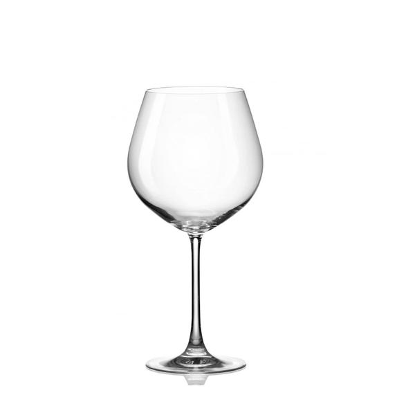 Bộ 6 ly thủy tinh pha lê cường lực uống vang 650ml Tiệp Khắc
