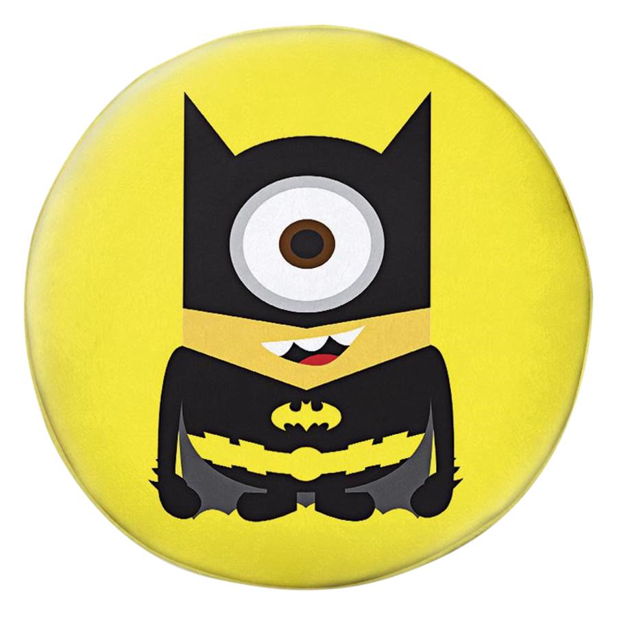 Gối Ôm Tròn Minions Batman - GOFF062
