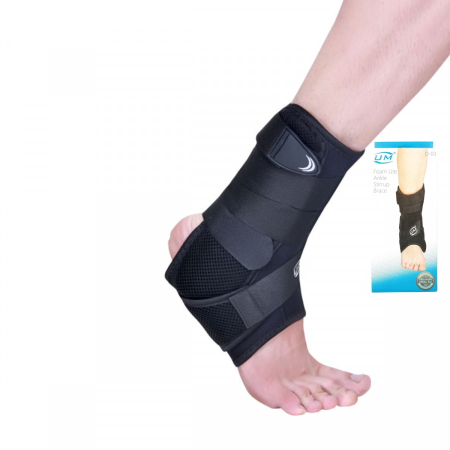 Nẹp cổ chân có đệm United Medicare (D03)