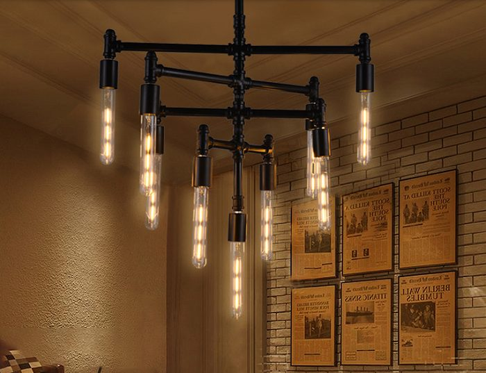 Bộ 10 bóng đèn Led Edison T185 4W đui E27.