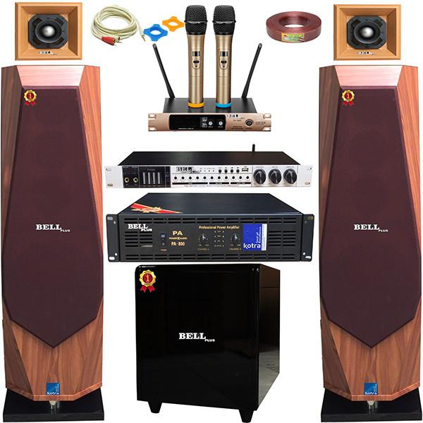 Bộ dàn nghe nhạc karaoke SA - 6600 BellPlus (hàng chính hãng)