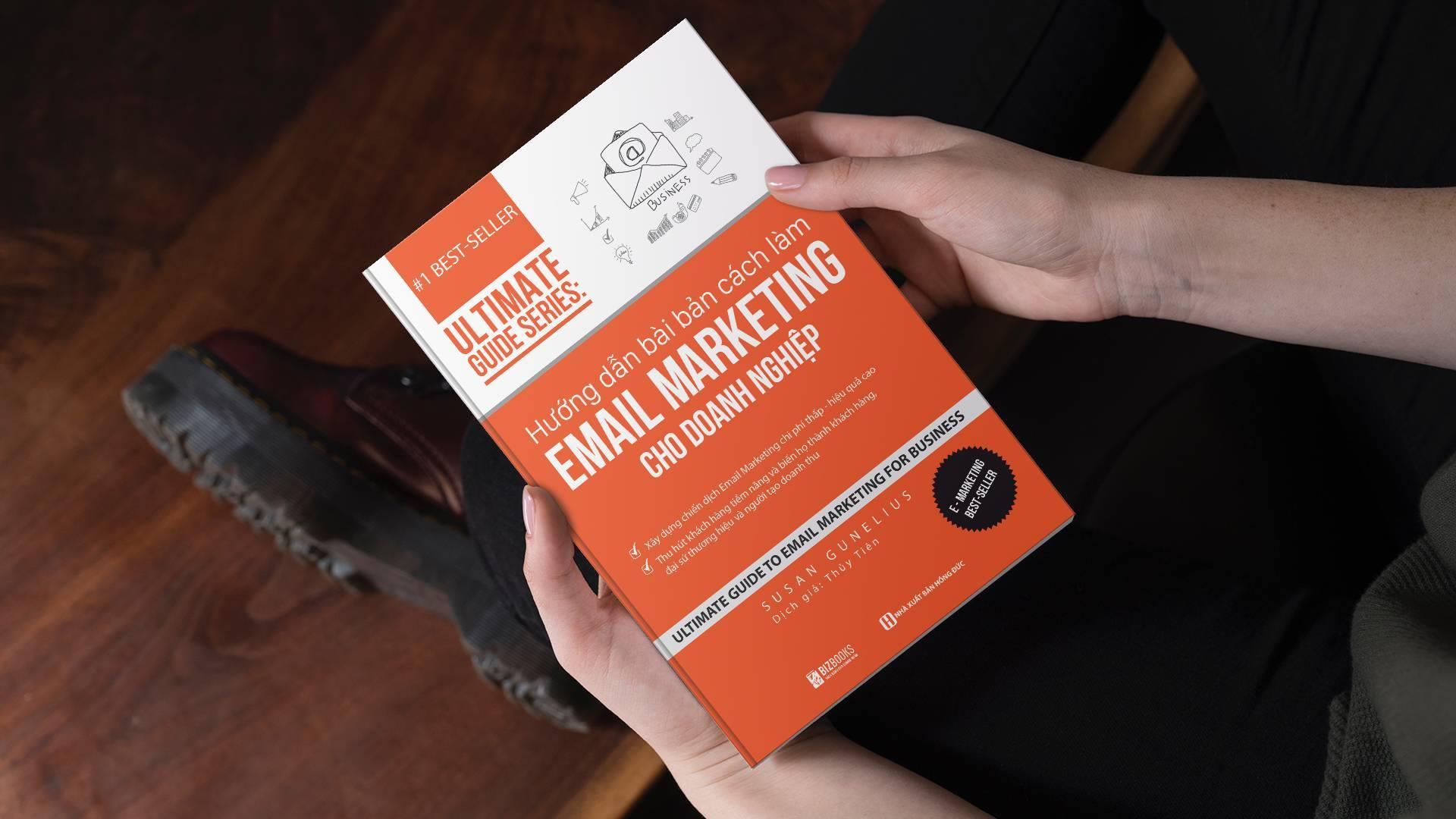 Combo 2 cuốn sách người làm Marketing phải có: Cách làm Email Marketing cho doanh nghiệp và Những chiến lược marketing giúp doanh nghiệp tạo ra lợi nhuận
