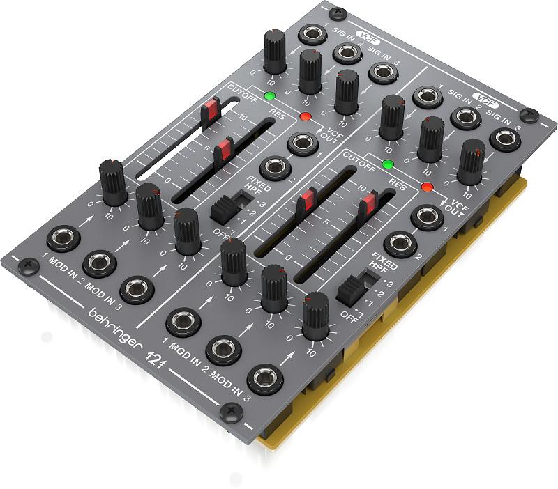 Analog Dual VCF Behringer 121 DUAL VCF- Module for Eurorack-Hàng Chính Hãng