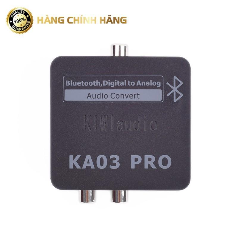 Bộ chuyển đổi âm thanh Digital sang Analog Kiwi KA03 PRO CHÍNH HÃNG có Bluetooth