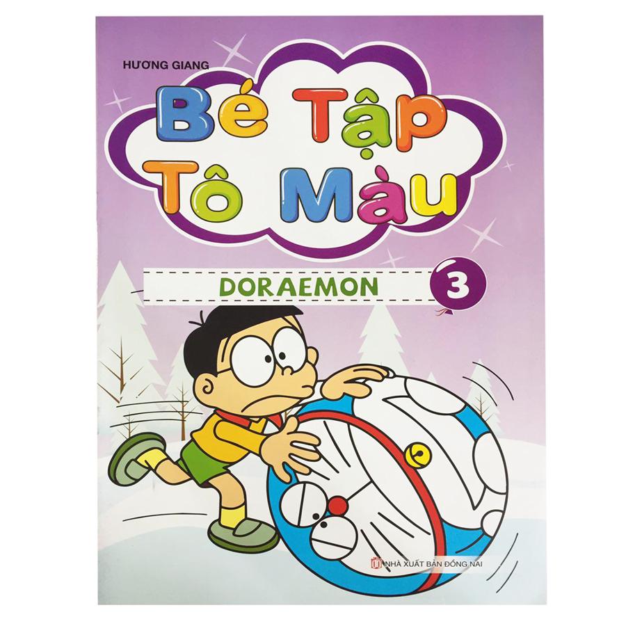 Bé Tập Tô Màu Doraemon (Tập 3)