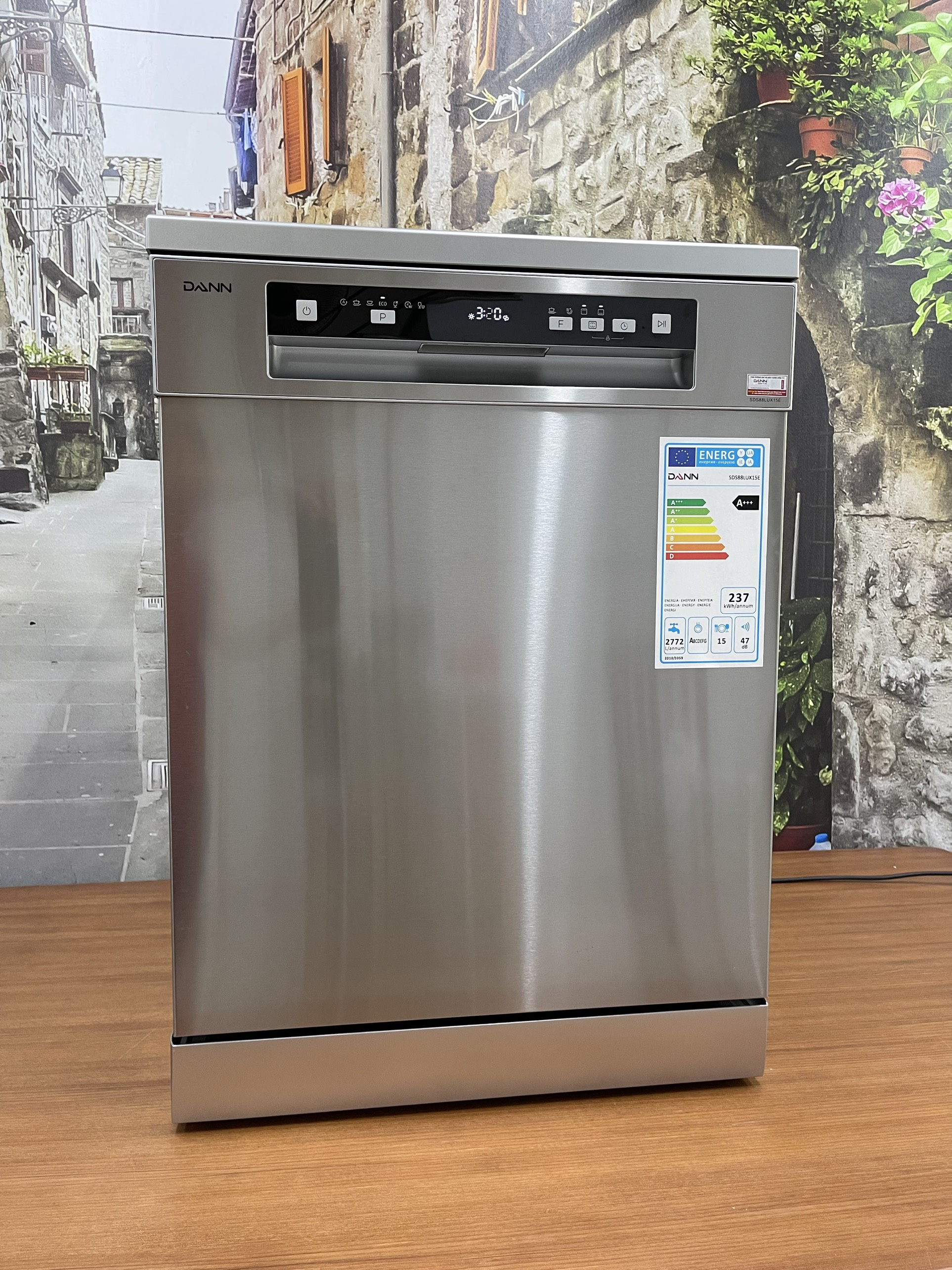 Máy rửa bát Dann SDS88LUX15E - Hàng chính hãng