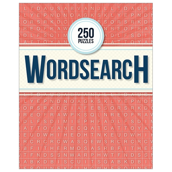 250 Puzzles Wordsearch - Activity Book