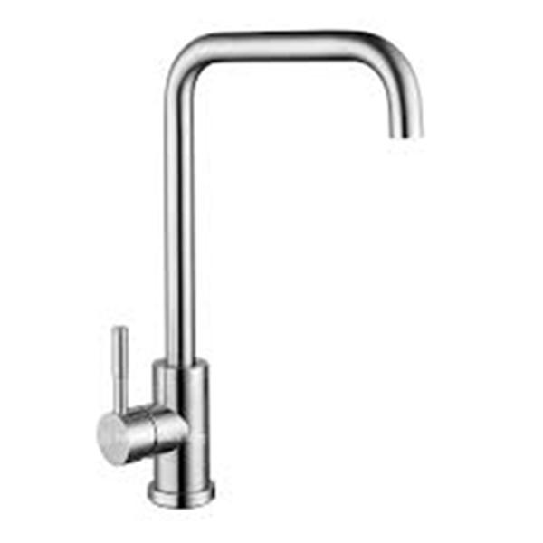 Vòi rửa bát, chén ( lạnh - Cong U ) INOX SUS 304
