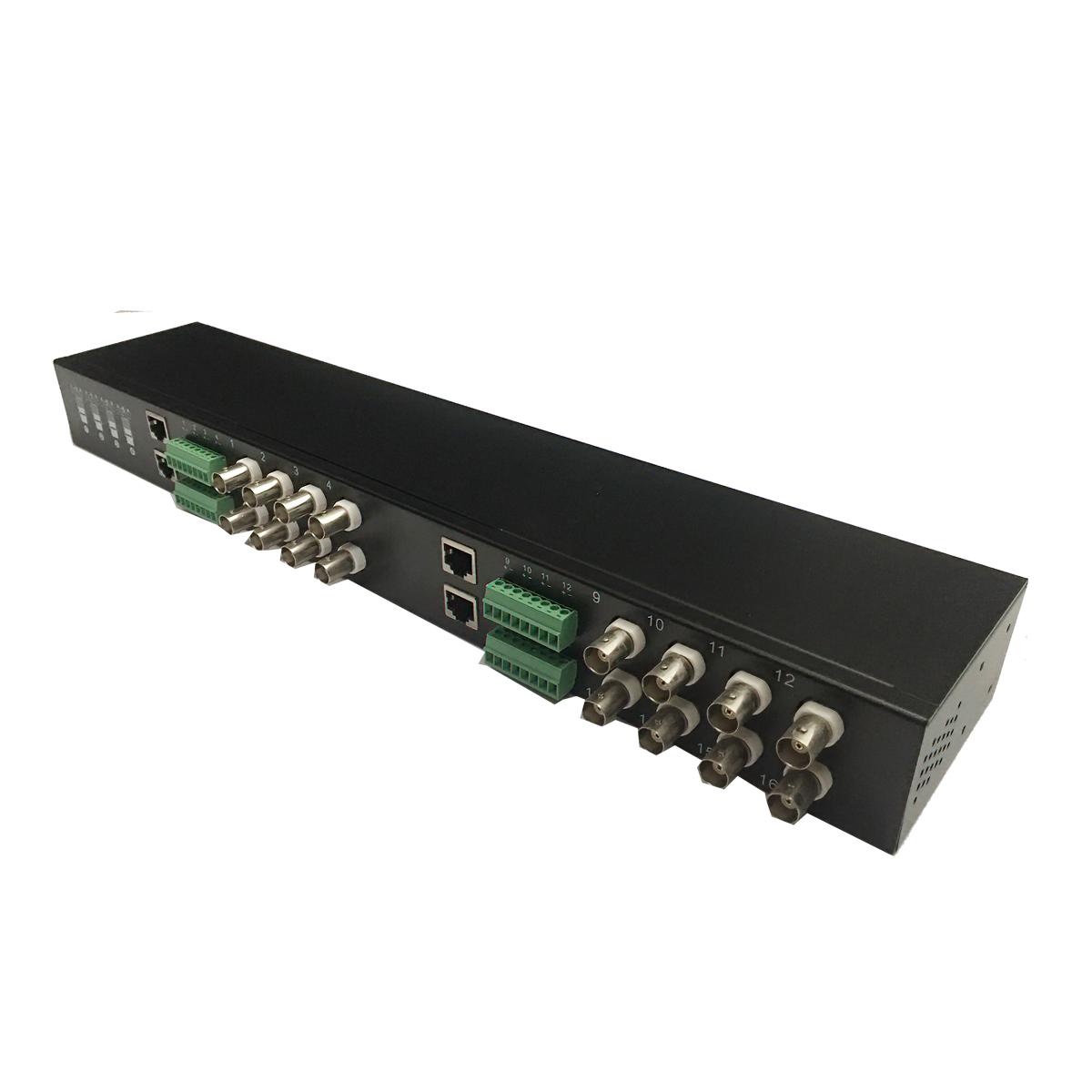 Bộ chuyển đổi Tín hiệu Video Balun  chống nhiễu 16 kênh BNC kết nối bằng cáp mạng UTP