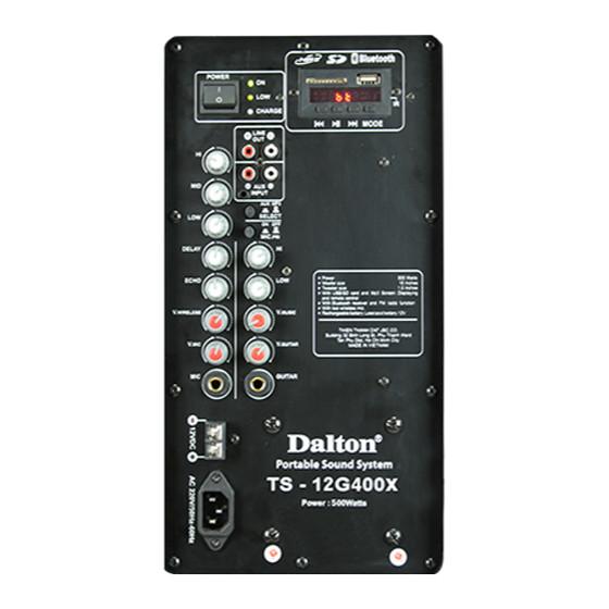 Loa kéo Dalton TS-12G400X - Hàng chính hãng