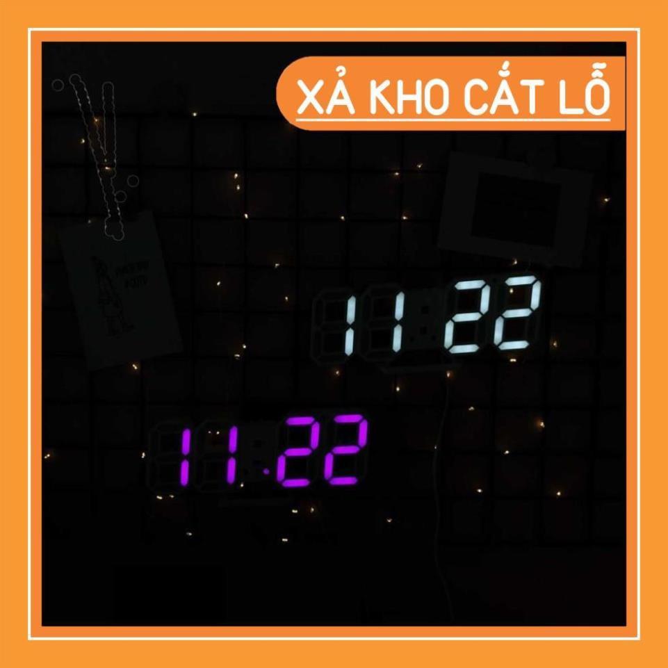 ĐỒNG HỒ LED 3D ĐỂ BÀN-GD233