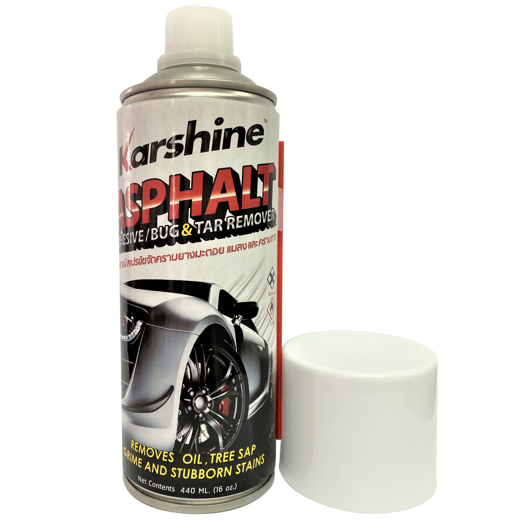 Bình xịt tẩy sạch nhựa đường, dầu, vết keo Karshine KA-RE440