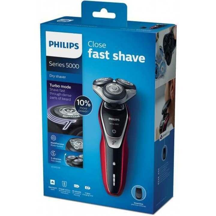 Máy cạo râu khô và ướt cao cấp Philips S5390/12 tích hợp hai lưỡi cạo Super Lift & Cut Action - Hàng Nhập Khẩu