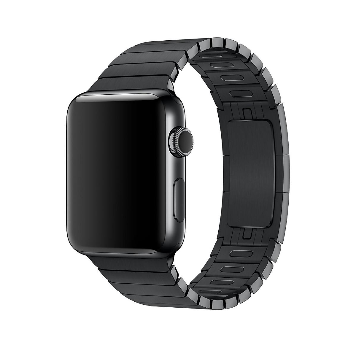 Dây thép cho đồng hồ Apple Watch Series 4/5 Link Bracelet tháo chốt tự động