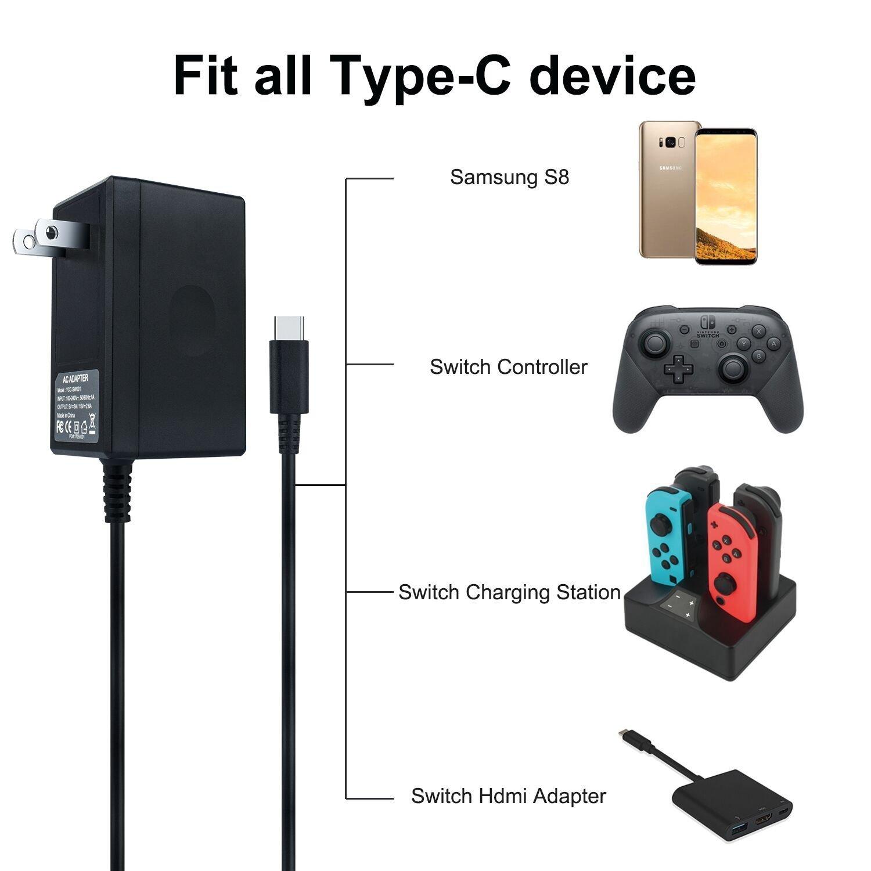 Nguồn Adapter cho máy Nintendo Switch - Hàng chính hãng