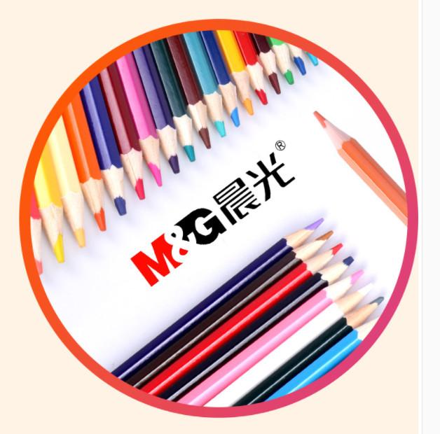 Bộ bút chì chuốt màu M&G 12 màu, hộp có hình máy bay Swing JWP34347