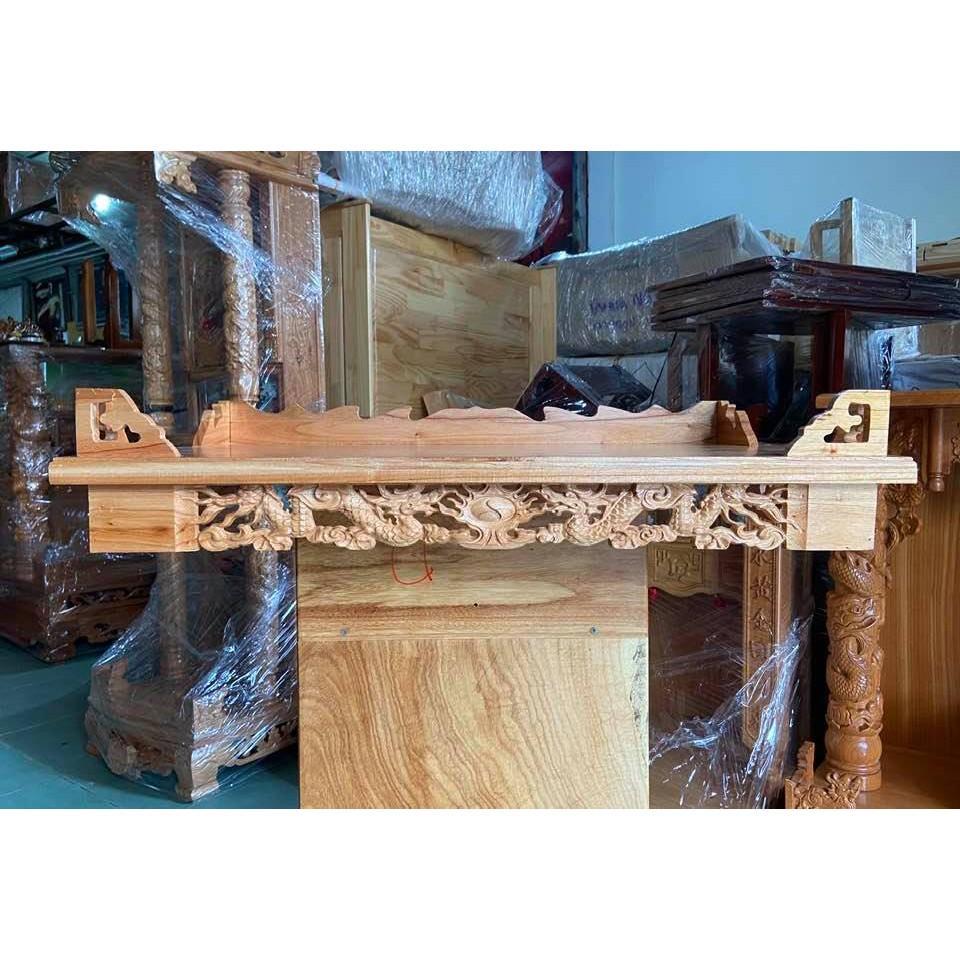 Bàn thờ treo tường Rồng 80cm TTX80RT