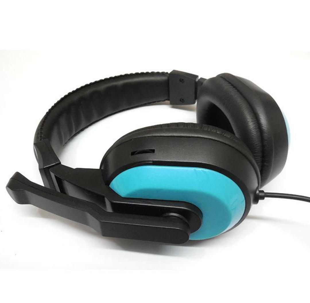 Tai nghe chụp tai chuyên dụng dành cho điện thoại và máy tính 1 cổng 3.5 JM-471DT có mic thoại, âm thanh cực hay ( màu ngẫu nhiên )