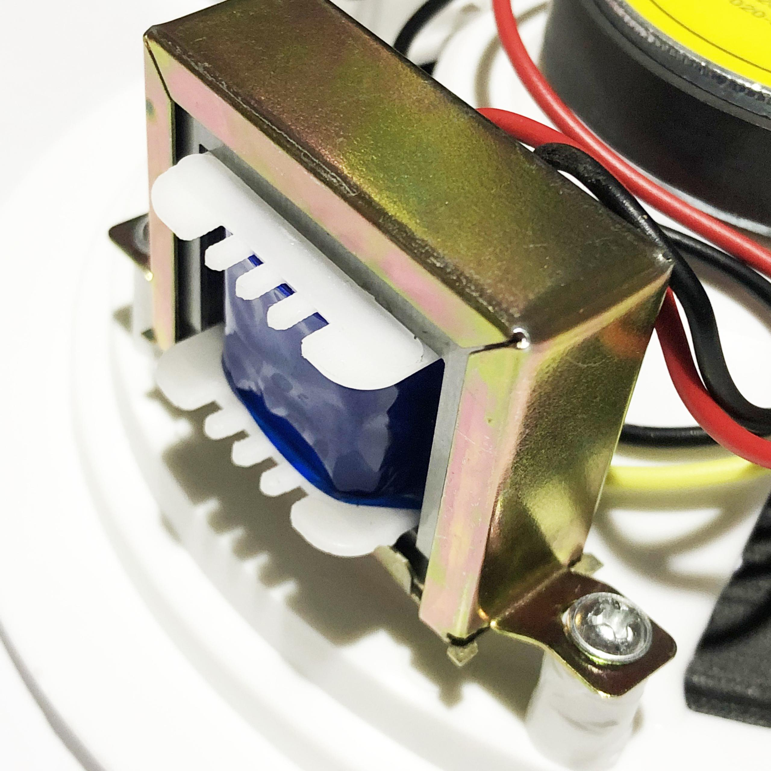 Bộ 04 Loa Âm Trần SAST Công Suất 6W Kích Thước 5 inch Mặt Tròn Lưới Mịn PD - Hàng Nhập Khẩu