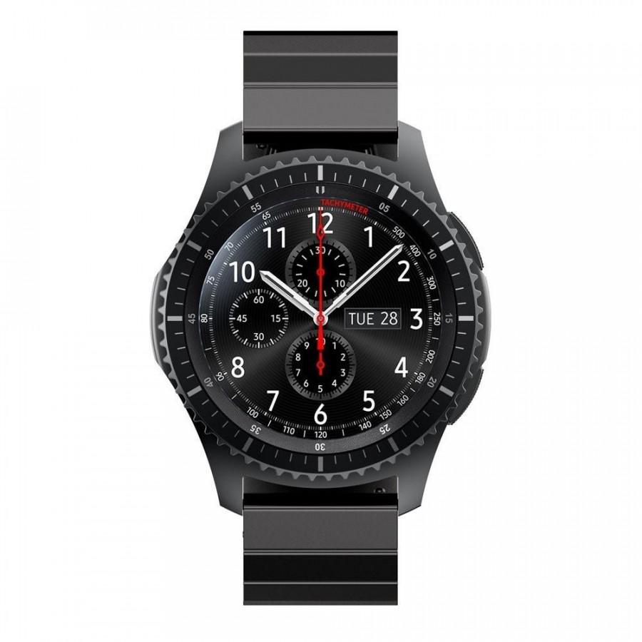 Dây Thép Đen Khối Cho Galaxy Watch (Size 22mm)