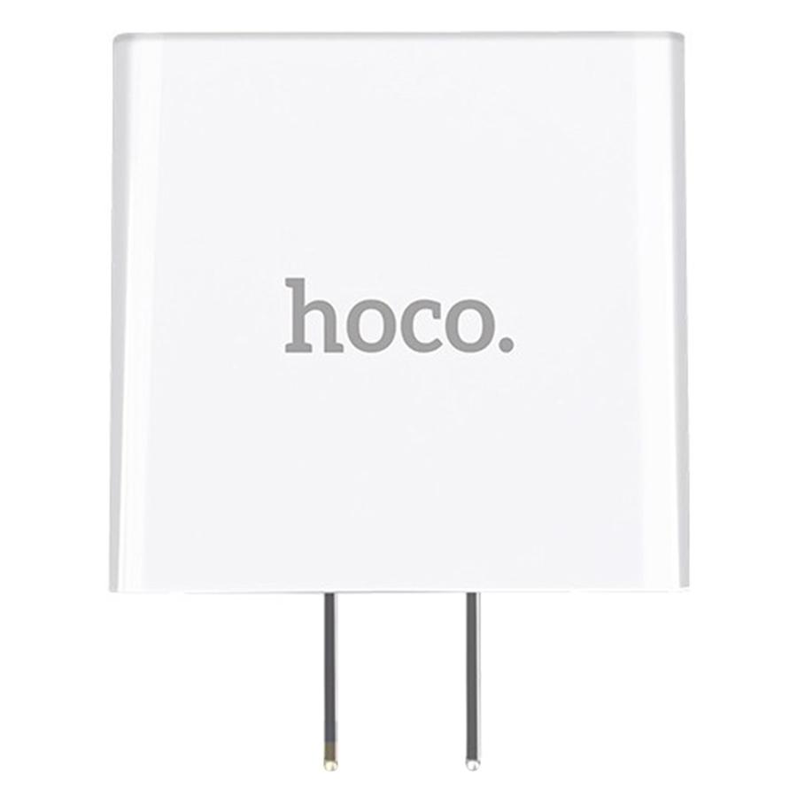 Adapter Sạc 3 Cổng USB Hoco C15 - Hàng Chính Hãng
