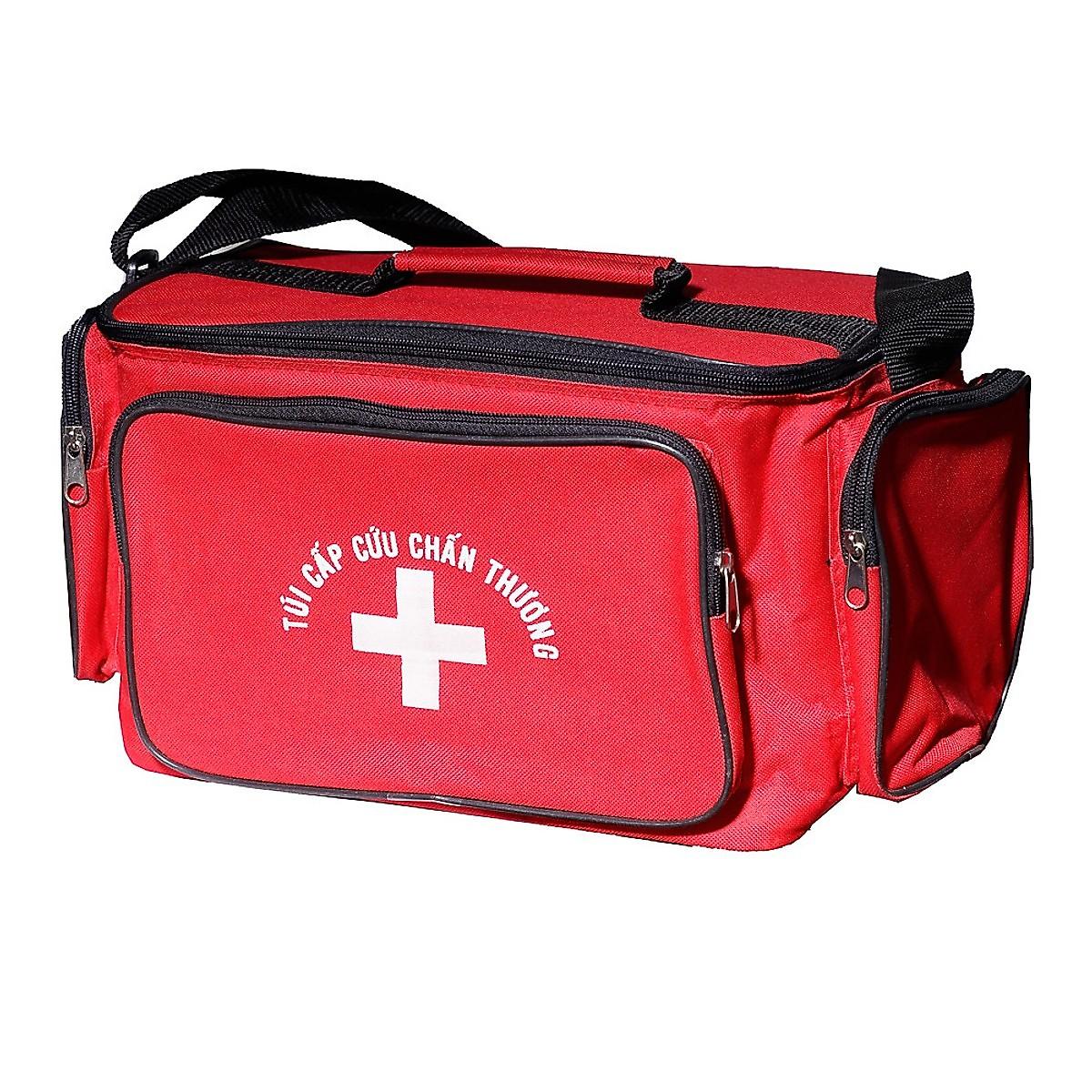 Túi y tế đỏ size L