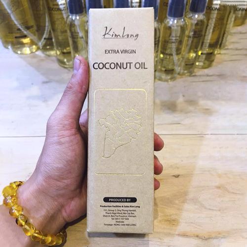 Dầu dừa tinh khiết nguyên chất Organic chai 500ml
