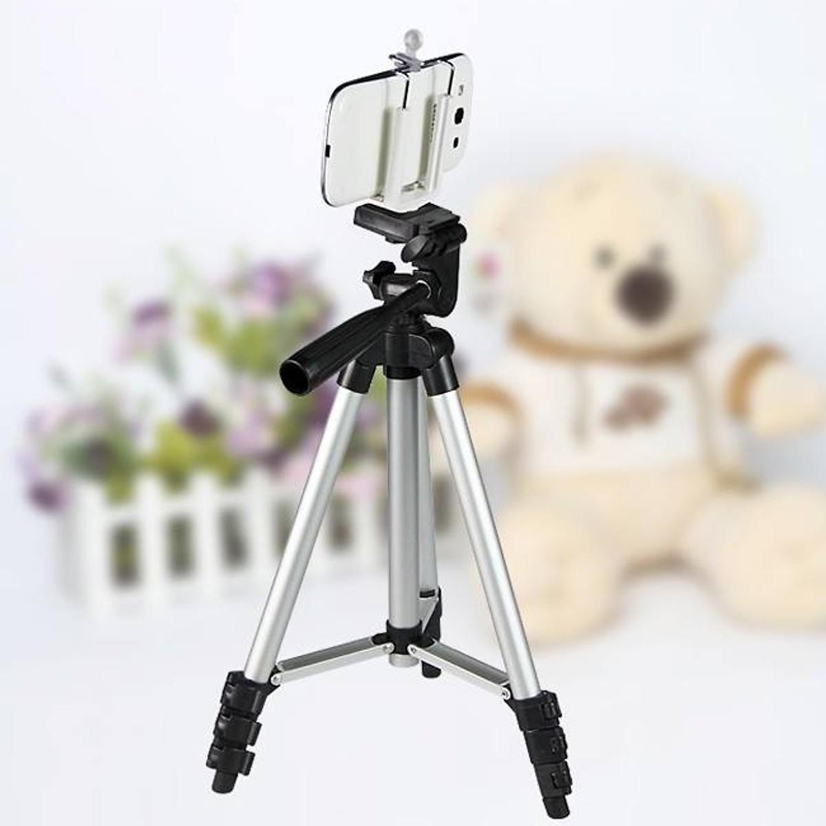 Bộ giá đỡ điện thoại, máy ảnh 3 chân tripod