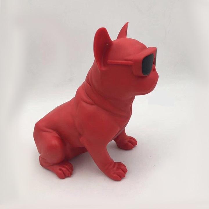 Loa nghe nhac kết nối Bluetooth hình chó Bull cực chất