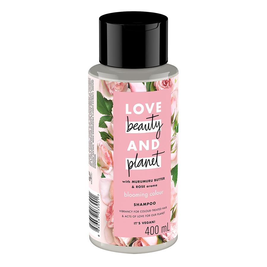 Dầu Gội Cho Tóc Nhuộm Love Beauty And Planet Blooming Colour 400ml