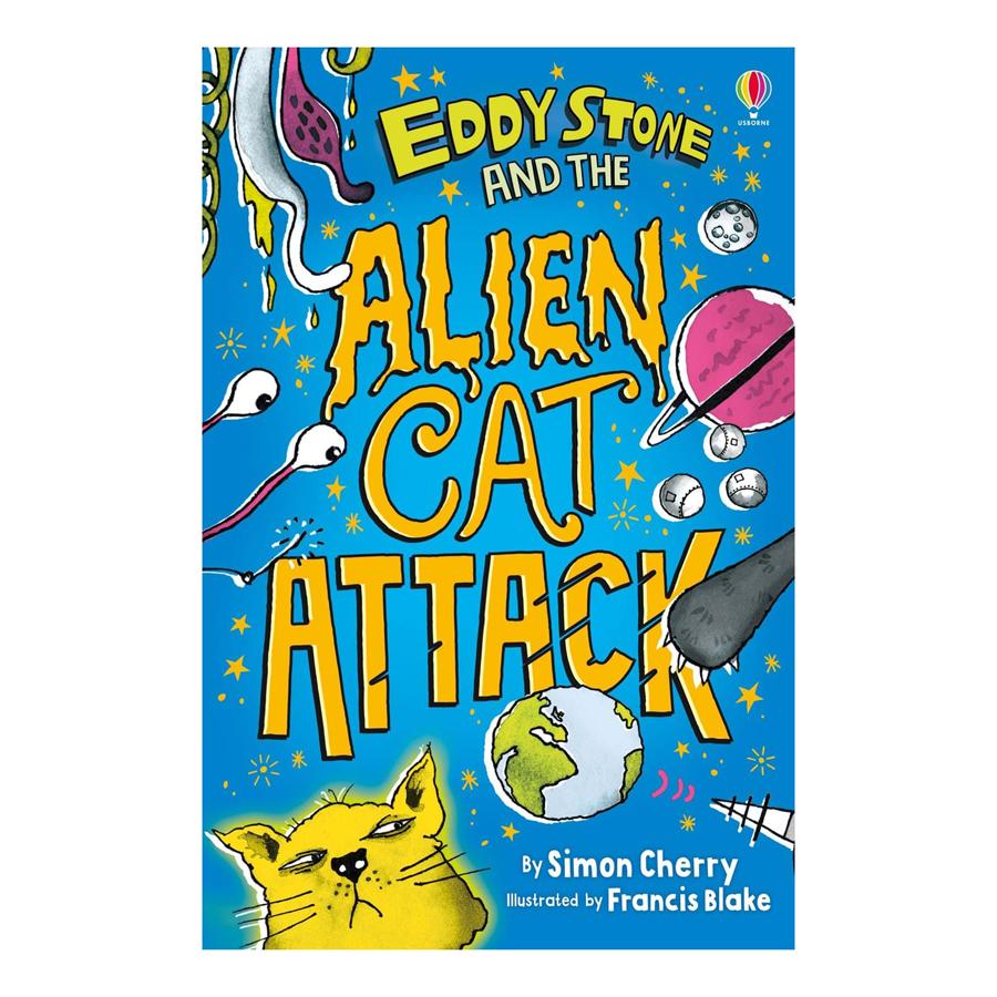 Usborne Eddy Stone and the Alien Cat Attack