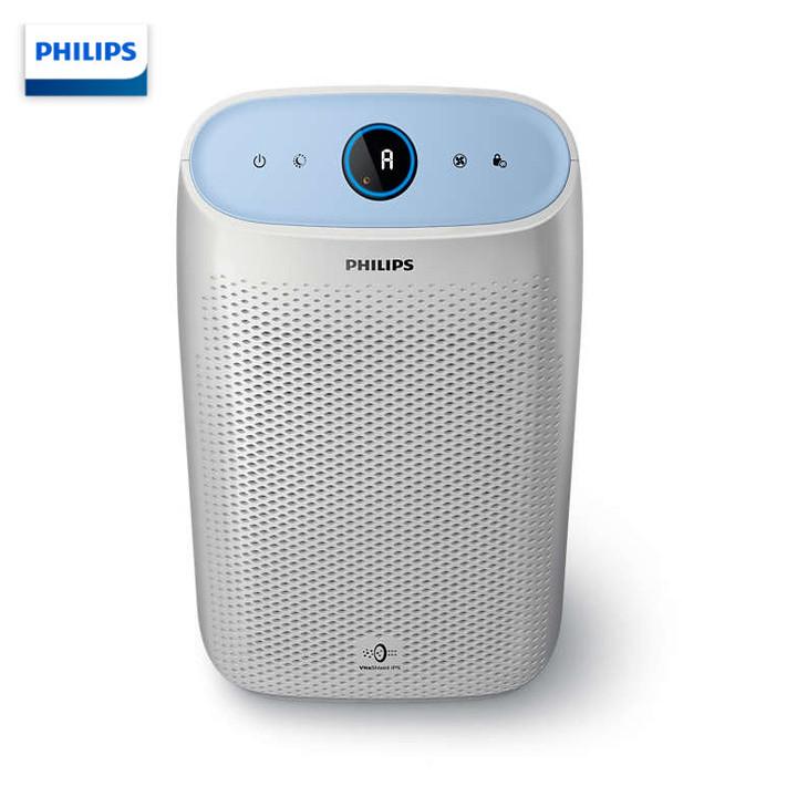 Máy lọc không khí trong nhà Philips AC1216/00 Công suất  50W Chất lượng không khí 4 màu, kết hợp màn hình led hiển thị - Hàng nhập khẩu