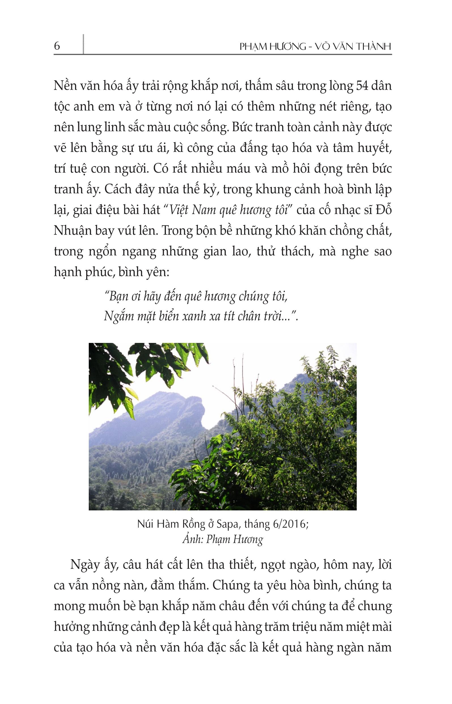 Việt Nam Non Sông Gấm Vóc - Miền Nam