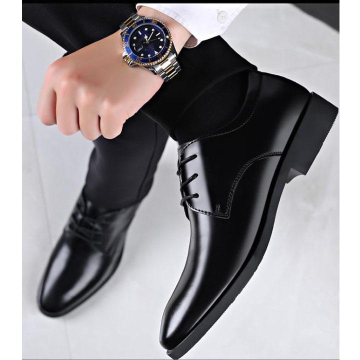 Giày da nam thiết kế phong cách quý ông mã GIAYDA8865