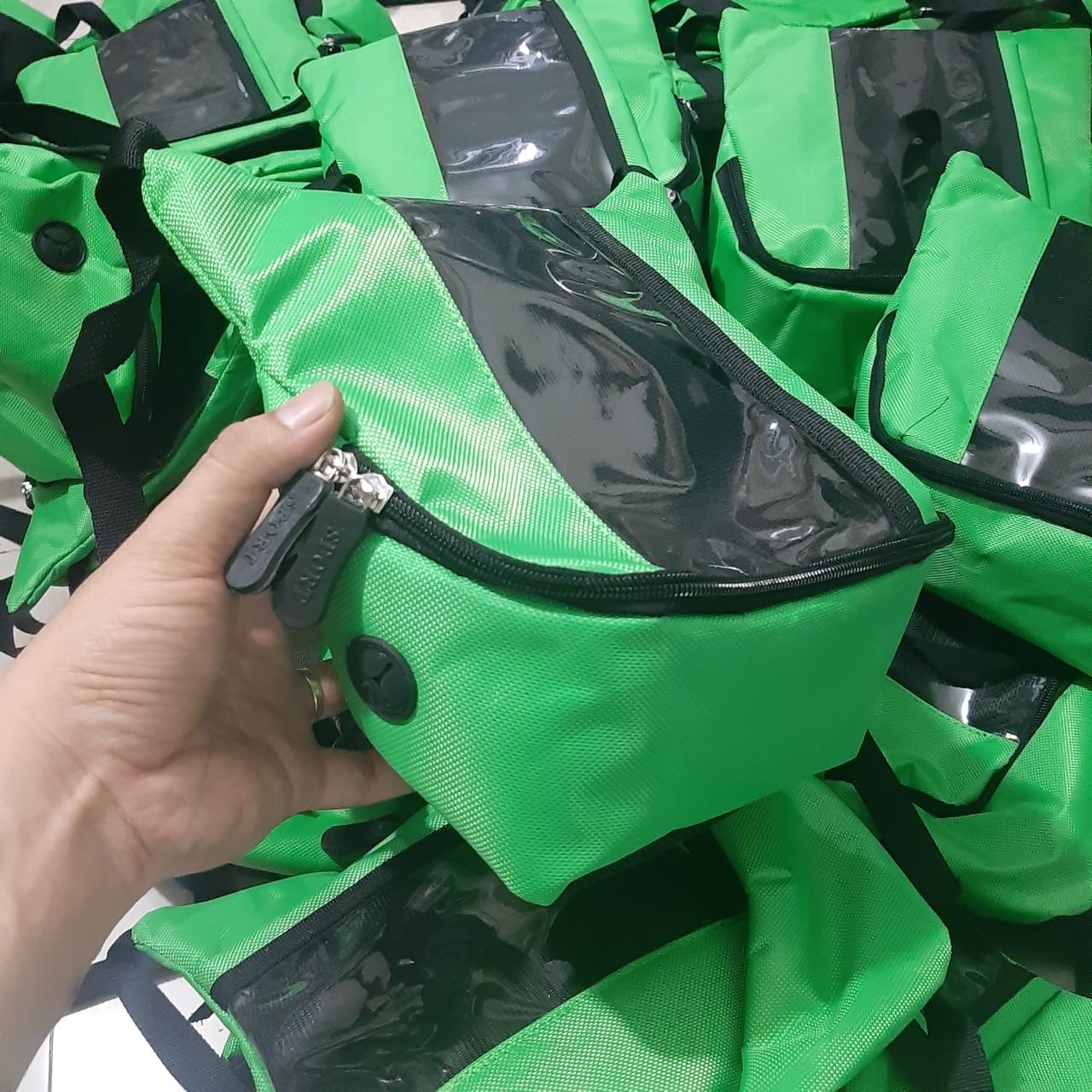 Túi treo đầu xe máy Sunha, Để Điện Thoại Và Vật Dụng Tiện Lợi , Chất Liệu Vải Cao Cấp , Cảm ỨNg NHạy , Màu Xanh Của Gáp