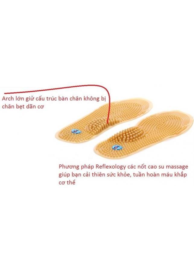Lót giày massage chân vinalogi opion 2