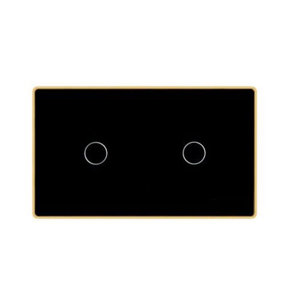 Công tắc cảm ứng chữ nhật 2 nút