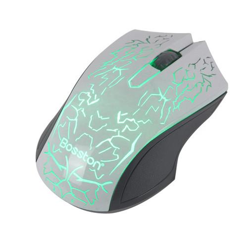 Chuột  Led Chuyên Game Mouse bosston D608 - HÀNG CHÍNH HÃNG