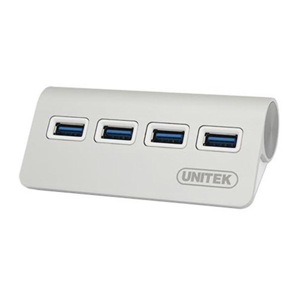 Hub Chia USB 3.0 Unitek Y-3186 Ra 4 Cổng USB - Hàng Nhập Khẩu