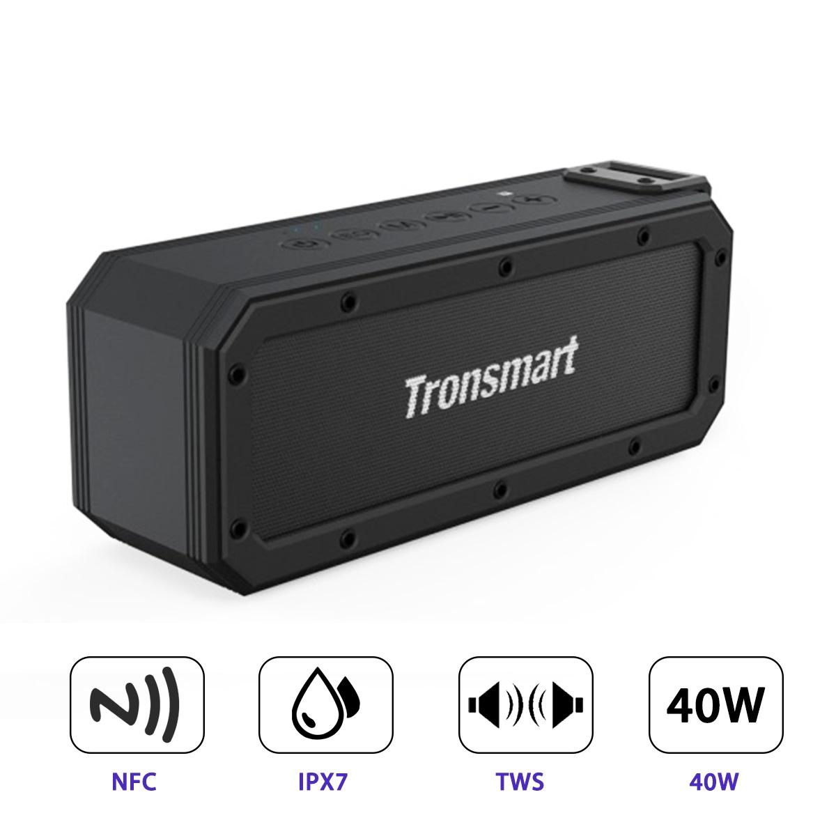 Loa Tronsmart Element Force + Plus Bluetooth 40W - Hàng Nhập Khẩu