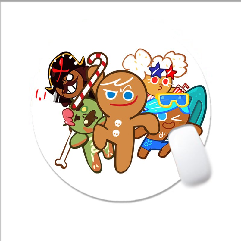 ( TRÒN ) Miếng di chuột in hình COOKIE RUN game anime chibi miếng kê chuột miếng lót chuột