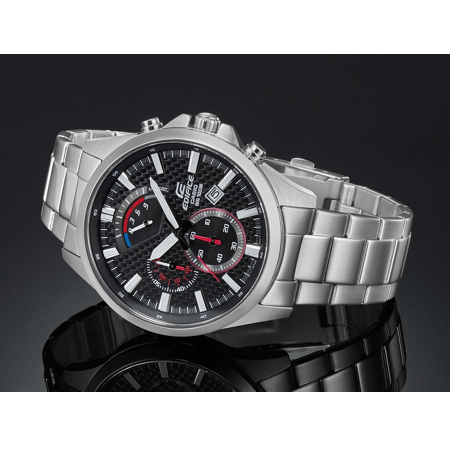 Đồng hồ nam dây kim loại Casio Edifice chính hãng EFV-530D-1AVUDF