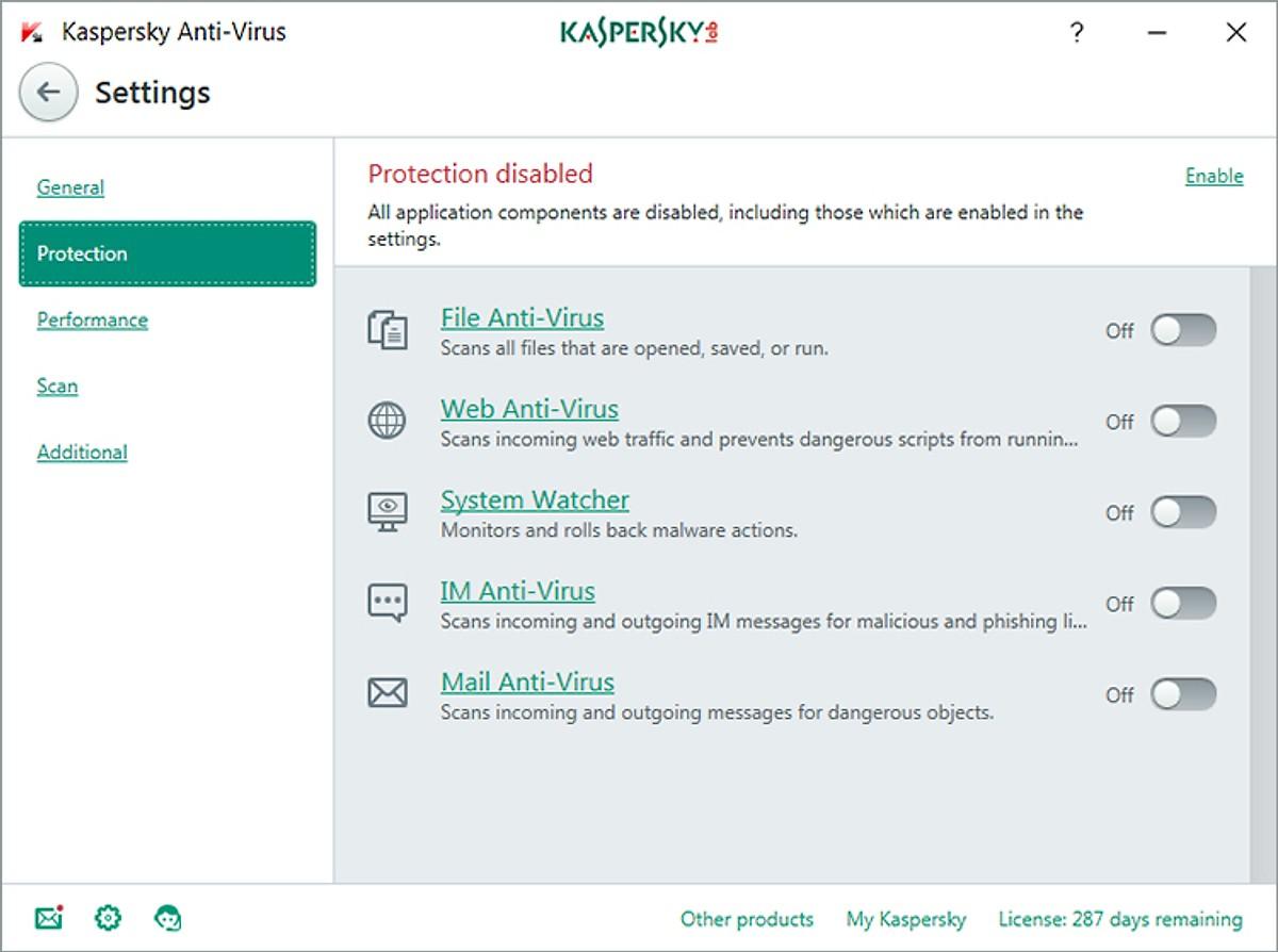 Phần mềm Kaspersky antivirus 3PC/1 năm - Hàng chính hãng