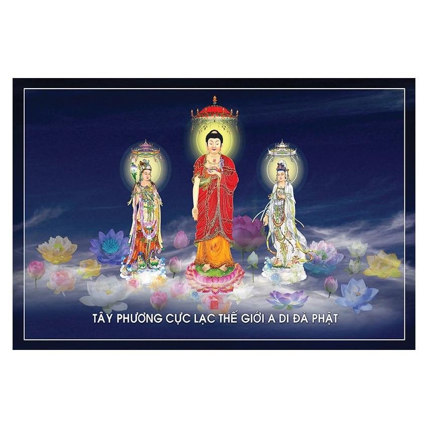 Tranh Phật Giáo Tam Thánh 2456