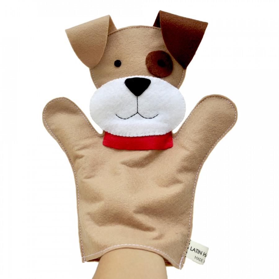Rối Bàn Tay Latin Handmade - Chó Con LT563