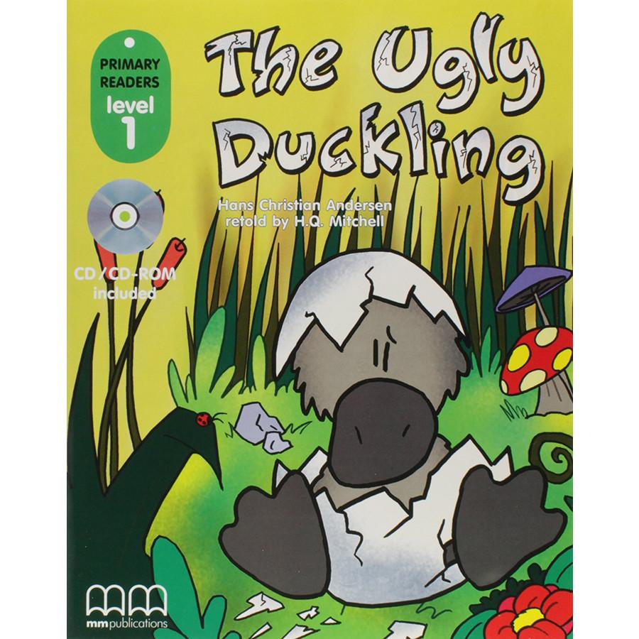 MM Publications: Truyện luyện đọc tiếng Anh theo trình độ - The ugly ducking (with CD-ROM)