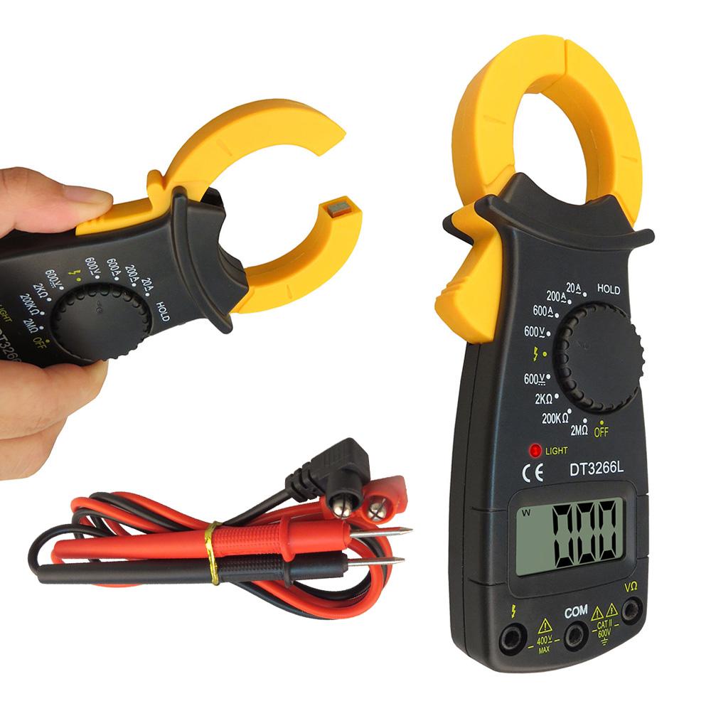 Ampe kìm cầm tay kẹp vạn năng Multimeter Digital DT3266L D00-060