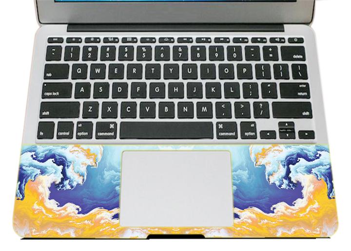 Mẫu Dán Trang Trí Mặt Ngoài + Lót Tay Laptop Laptop Hoa Văn LTHV - 416
