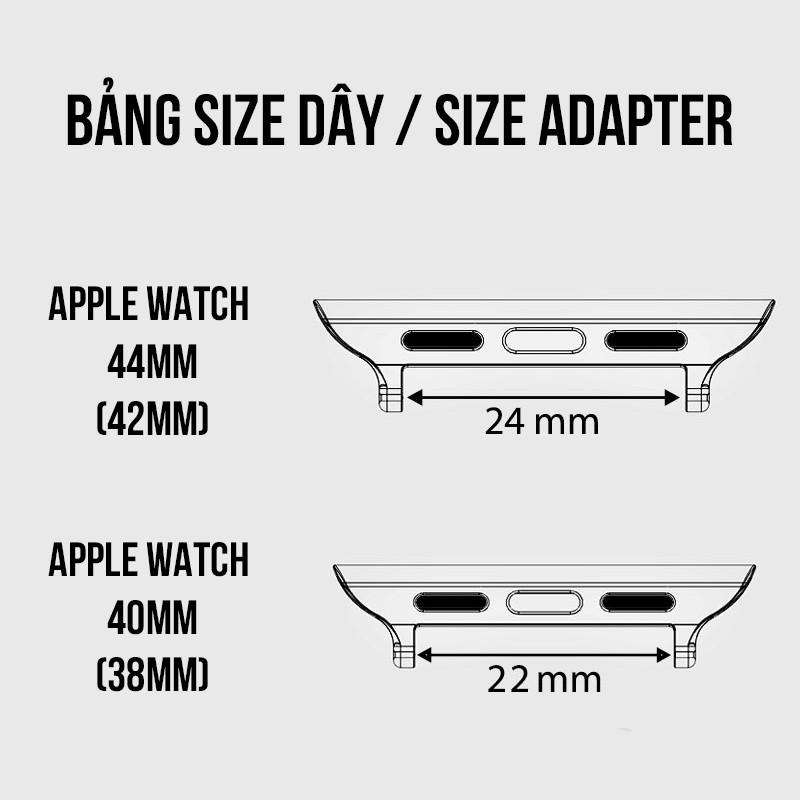 Dây da bò cho Apple watch - Da sáp Vintage